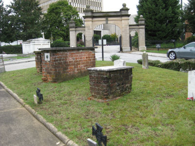Old grave site.
