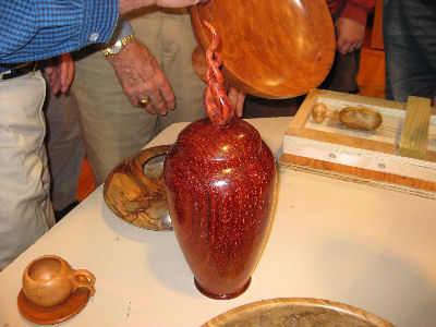 More wood turning